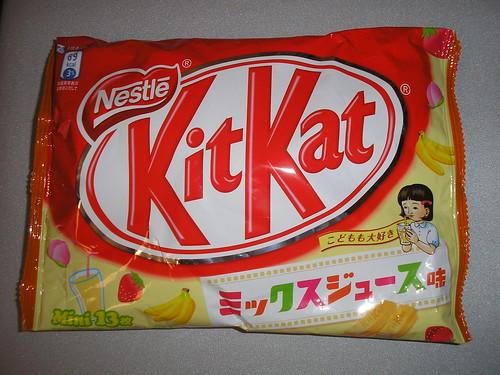 ミックスジュース (Mix Juice) Kit Kats