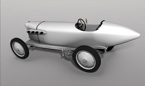 1909 Blitzen-Benz 3D render