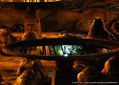 Fonte abandonada na Praça da República