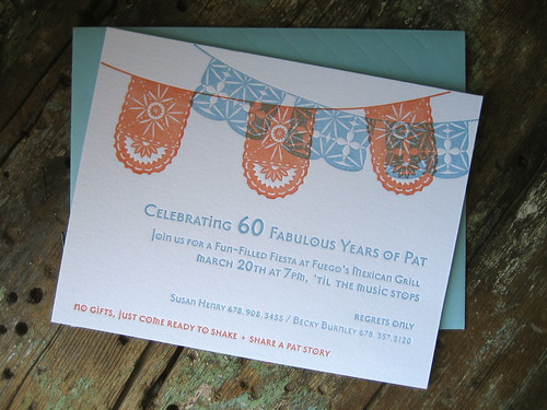 fiesta birthday invite