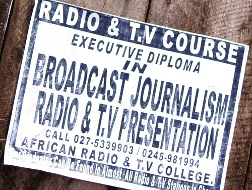 Radio and TV course