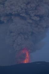 Eruption in Eyjafjallajökull