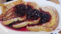 Wild Blueberry French Toast