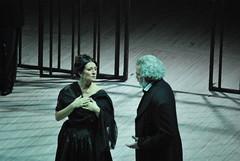Daniela Dessì e Giacomo Prestia, IV atto.