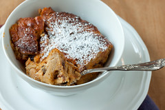 Pumpkin Raisin-Bread Pudding