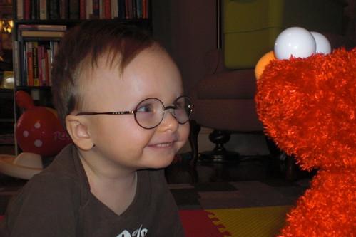 Elmo, you so funny.