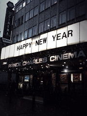Happy New Year (photo copyright by Prince Charles Cinema)