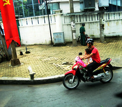 going for a ride (ho chi minh city)