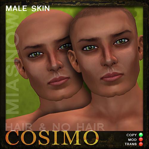 HAIR & NO HAIR Avatar Skin