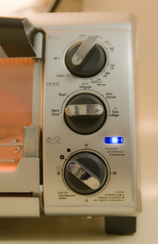 Does one really need 3 knobs to make toast?