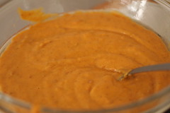 Wet Ingredients for Sweet Potato Bread