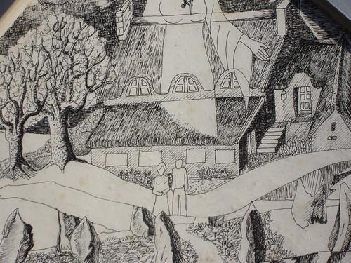Kerantorec vu par Yves Samson, YS, 1987