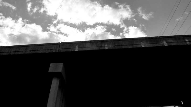 Overpass Black White