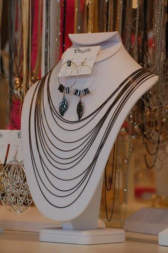 Necklaces at Dazzle, Germantown, Tenn.
