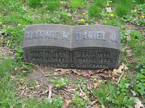 Mammie M. and Daniel J. Frank