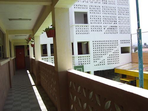 Inside view of school