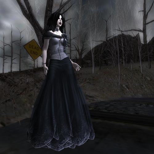 Flora - Black Dahlia I