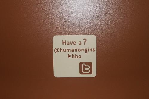Smithsonian - Hall of Human Origins - Twitter Logo