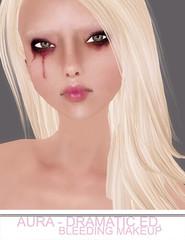 Aura Dramatic Ed. - Bleeding mu Makeup