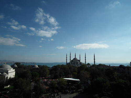 Istanbul Octobre 2010 - Mosquée bleue
