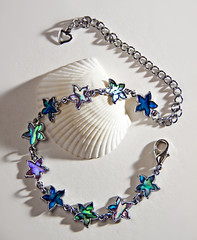 silver bracelet from Hawaii