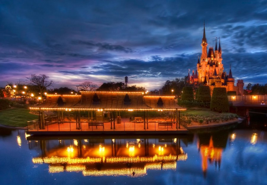 Peaceful Disney in Resplendent Color