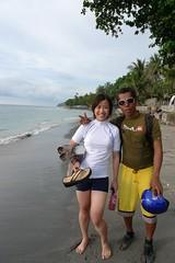 我和衝浪教練Harison