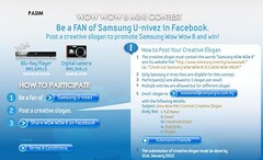 Samsung Wow Wow 8 contest