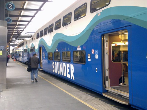 My ride home, the Sounder