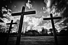 Crosses in B/W