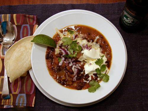 Dinner: January 31, 2010