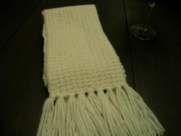 broken rib scarf