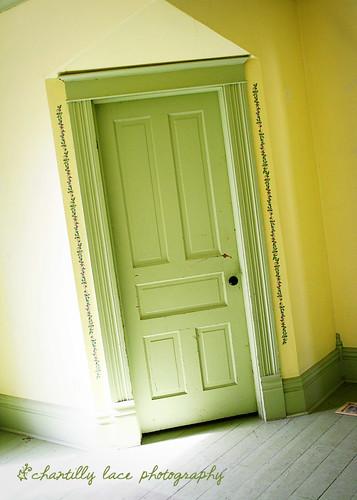 91/365: Green Door