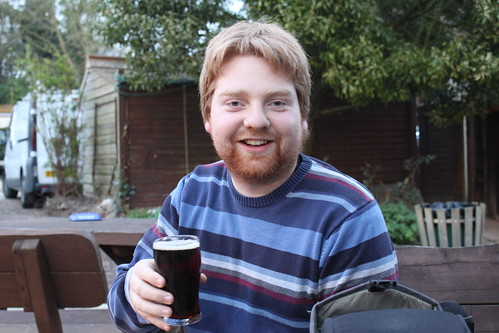 Alan P with a half of Gribble Mild