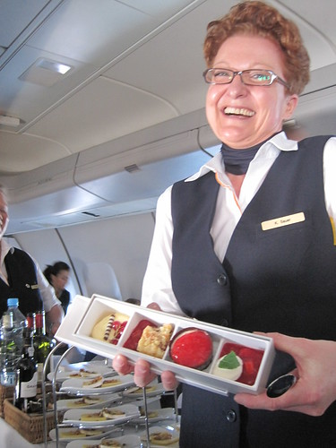 Delicious Business Class Deserts Taste Better on Lufthansa