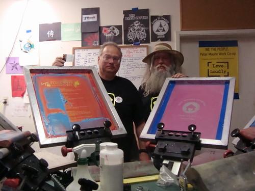 Eugene & Van of Peter Maurin Co-op