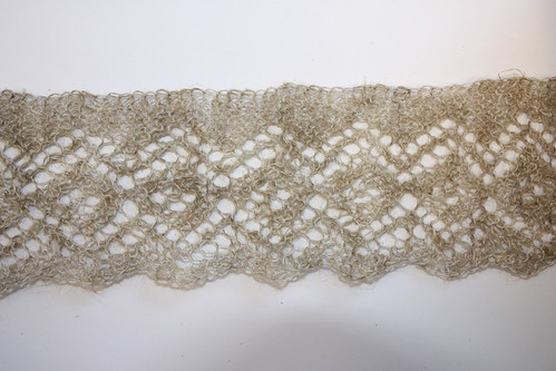 Edging of Square Medallion Shawl