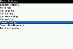 BlackBerry Bold Smart Dialing