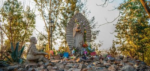 Estatua Virgen Guadalupe , Cerro de la Reina, Tonala