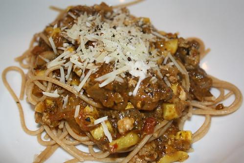 Kitchen sink spaghetti