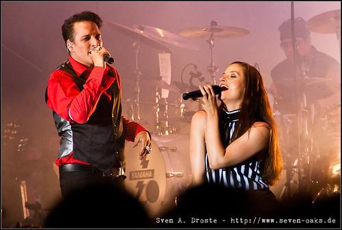 Bela B. (Dirk Felsenheimer) & Ina Paule Klink / Bela B. y Los Helmstedt