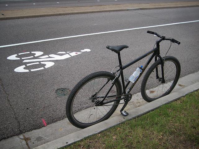 Riding The New Bike Lane