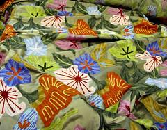 Kaplan's Fabrics - Jacobean crewel