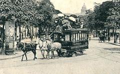 Voiture à cheval (Paris 1828)
