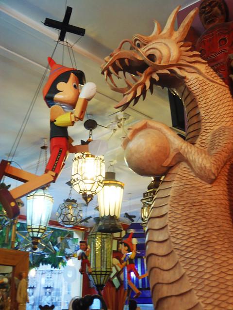 Pinocho contra el dragón