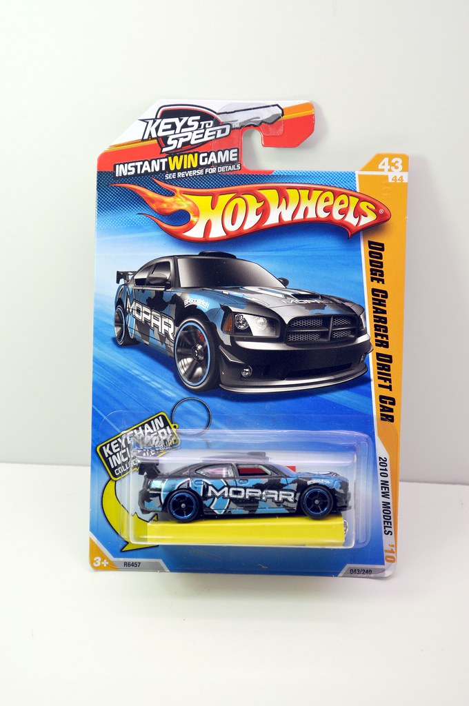 hws dodge charger drift car black (1)