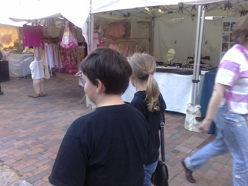 At the markets in The Rocks
