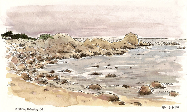 monterey peninsula beach