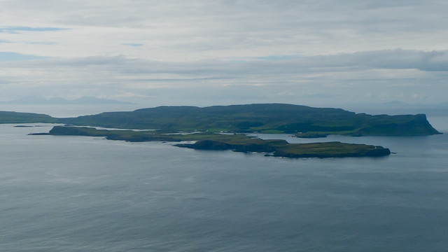 A view of Canna from Bloodstone Hill