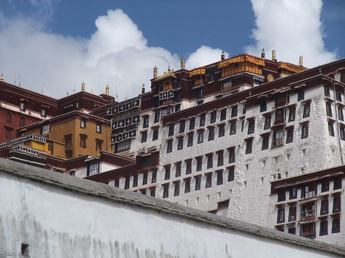 Potala rouge et Potala blanc